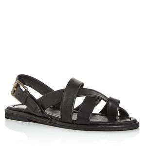 Frye Tait Softy Criss-Cross Strappy Sandals
